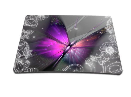 Luxburg® Design Mousepad Mausunterlage Mauspad, Motiv: Großer Schmetterling