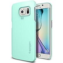 Spigen SGP11411 - Funda para Samsung Galaxy S6 Edge, Menta