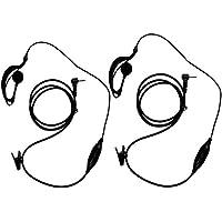 KEESIN G Forma de Clip Auriculares / Mic del auricular para Motorola Talkabout 2 radio de dos vías walkie talkie 1 pines 100-0