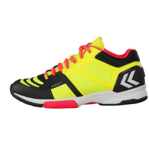 Hummel Aerocharge HB 220, Chaussures de Fitness Mixte Adulte Jaune fluo/noir