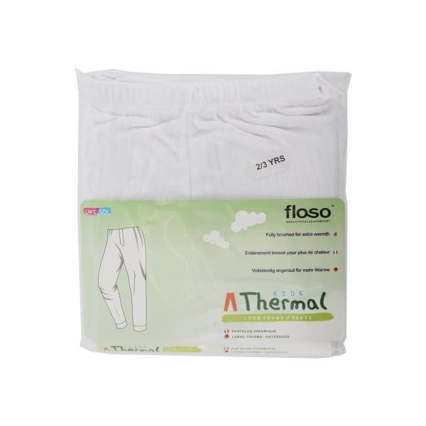 Floso - Pantalones Interiores térmicos para niños/Niñas Unisex 4