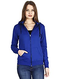 FLEXIMAA Women's Cotton Hoodie