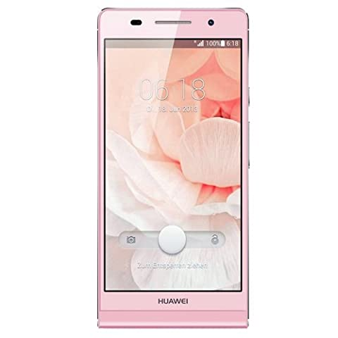 Huawei Ascend P6 Smartphone (11,9 cm (4,7 Zoll) Touchscreen, 8 Megapixel, 8GB Speicher, Android 4.2)