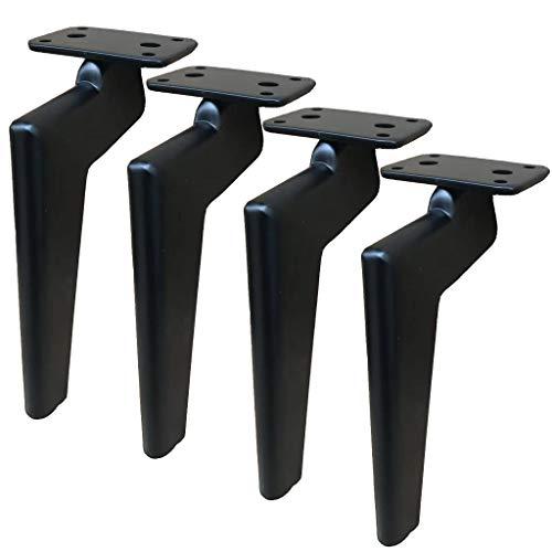 LXS Metallmatte, Möbel Metallfüße, weiches Bett/Couchtisch/Schrank/Schrankfüße/Küchenfüße/TV-Schrank Tischbeine Tischbeine Möbel Sofabeine - Gummimatte - sicher und leise -