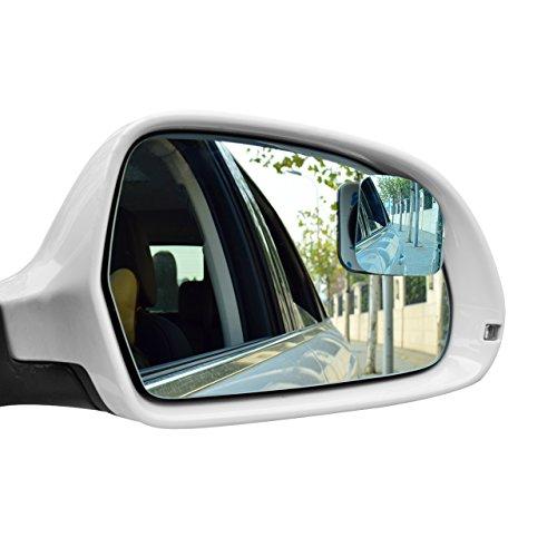 DEDC KFZ Winkelspiegel Totwinkel Sicherheitsspiegel Toter Winkel Spiegel Zusatzspiegel 2 Stück Anti-Glare