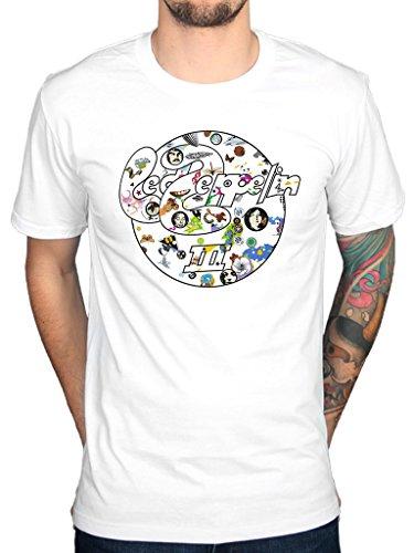 Official Led Zeppelin III Circle T-Shirt Merchandise