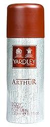 Yardley London Arthur Body Spray For Men - 150ml