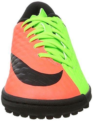 Nike Hypervenomx Phade Iii Tf, Chaussures de Football Homme Vert (Elctrc Green/black-hyper Orange-volt)
