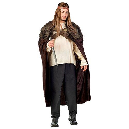Krieger der 7 Königreiche Gr. M- XL Hemd Hose Umhang Mittelalter Herrscher Fasching (M)