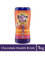 Cadbury Bournvita Chocolate Health Drink, 1 kg Jar