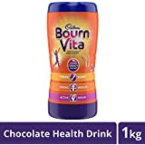 Cadbury Bournvita Chocolate Health Drink, 1 kg Jar