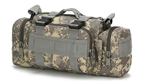 Oxford Männer Reisetasche im Freien Militär Tactical Gürteltasche wasserdichte Camping Wandern Rucksack Tasche Handtasche,Klimaanlage Digital