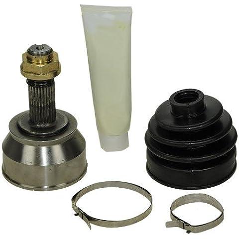1X Kit de junta homocinética lado rueda, con kit de montaje, FIAT BRAVA 1.8 GT 16V 95-01 +BRAVO 1.8 GT 2.0 16V 2.0 HGT 16V 95-01 +COUPE 2.0 16V 93-96 +PUNTO 1.4 GT TURBO 1.7 TD 94-99 +BARCHETTA 1.