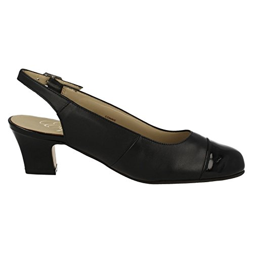 Equity , a bride femme Black Leather/Patent