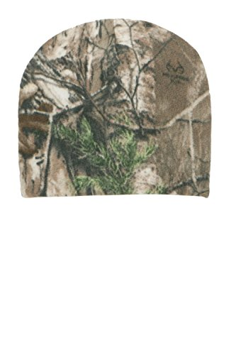 port-authority-herren-camouflage-fleece-beanie-gr-one-size-mehrfarbig-realtree-xtra