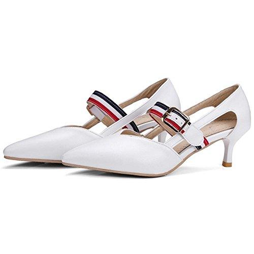 Coolcept white Escarpins Kitten Femmes Heel r8qr7wC