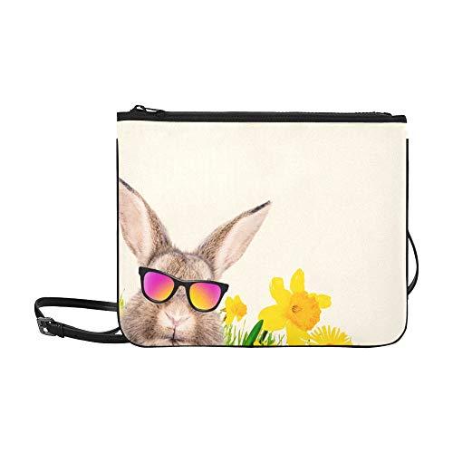nchen Mit Mädchen Und Jungen Muster Benutzerdefinierte hochwertige Nylon Schlanke Handtasche Umhängetasche Umhängetasche ()