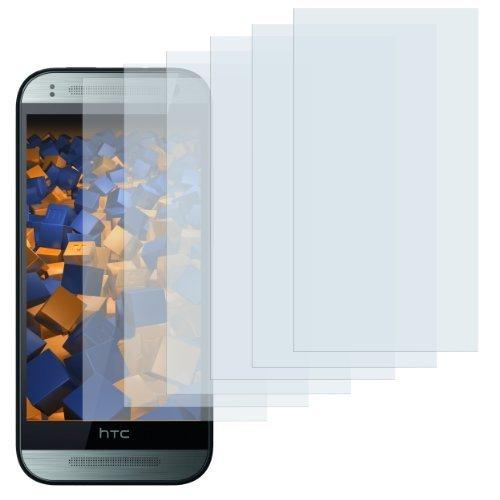 mumbi Schutzfolie kompatibel mit HTC One mini 2 Folie klar, Bildschirmschutzfolie (6x)