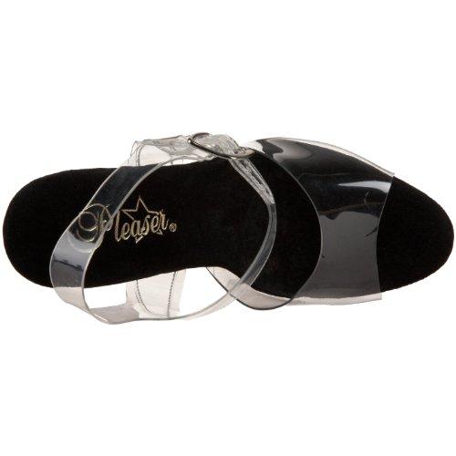 Pleaser Taboo 708, Des sandales femme Transparent (Clr/Blk)