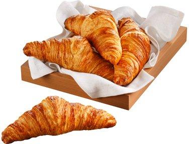 TOUPARGEL - Croissants cuits pur beurre - 8 x 50 g - Surgelé