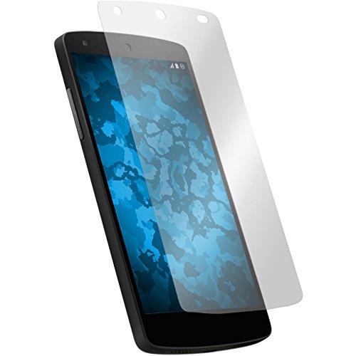 PhoneNatic 2er-Pack Displayschutzfolien klar kompatibel mit Google Nexus 5