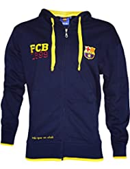 Veste sweat zippé Barça - Collection officielle FC Barcelone - Taille adulte homme