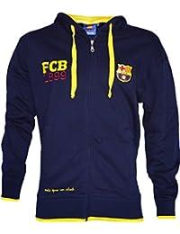 Veste sweat zippé Barça - Collection officielle FC Barcelone - Taille adulte homme