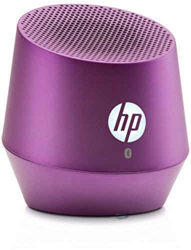 HP S6000 (G3Q06AA) Mini Bluetooth Lautsprecher (Bluetooth-fähig, Microsoft Windows XP/Vista/7/8/Android 3.0 /Apple iOS 4.3) violett