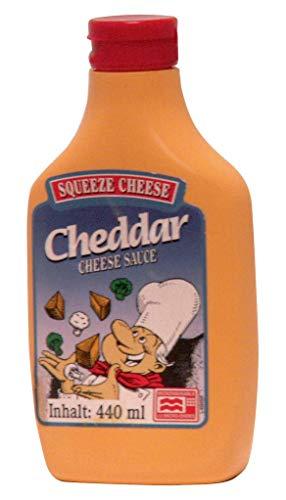 Squeeze Cheese - Cheddar Käse für die Mikrowelle - 440ml