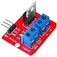 CAOLATOR IRF520 Módulo de Accionamiento MOS Módulo de Controlador de Transistor de Efecto de Tubo para Arduino / Microcontroladores / ARM