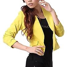 Blazer Chaqueta De Traje Mujer Chaquetas Elegantes Chic Abrigos Primavera Moda Casual Oficina Negocios Ejecutiva Outwear
