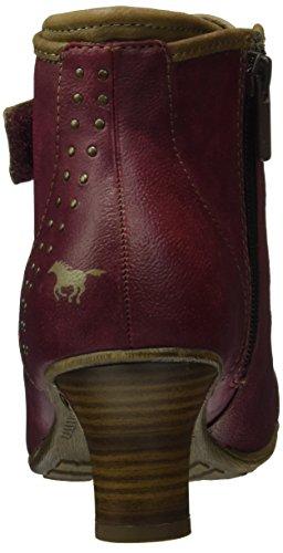 Mustang Damen 1156-601 Combat Boots Rot (55 Bordeaux)