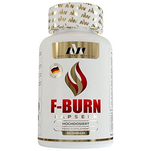 MVN Fatburner Extrem zum Abnehmen | Hochdosiert | L-Carnitin, Himbeer Ketone, Garcinia Cambogia, grüner Kaffee Extrakt