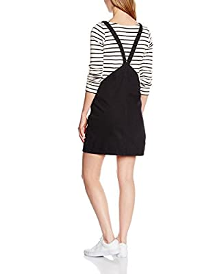 New Look Women's Dungaree Pinny Sleeveless Dress