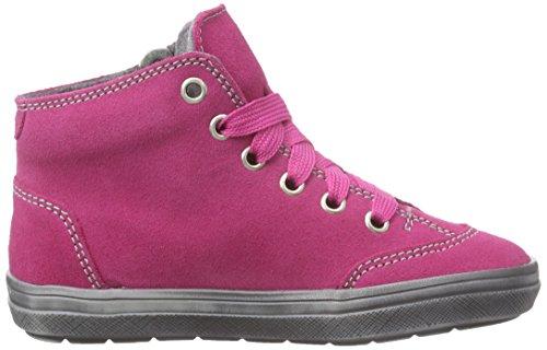 Richter Kinderschuhe Ilva, Mädchen Hohe Sneakers Pink (fuchsia/silver  3501)