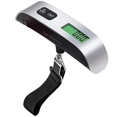 50 kg / 110 libras gancho cinturón Escala LCD Escala