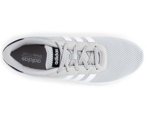 adidas Lite Racer, Scarpe da Ginnastica Basse Uomo Grigio (Grey Two/footwear White/core Black)
