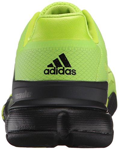 Adidas Performance Barricade 2016 Chaussure de tennis, semi solaire Slime / noir / noir, 6,5 M Us Semi Solar Slime/Black/Black