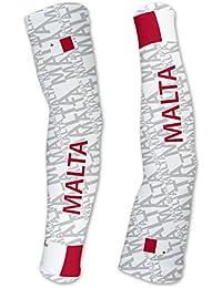 Malta ScudoPro Manguitos de Compresion con proteccion UV - Caminar -  Ciclismo - Correr - Golf b3c2334eefb
