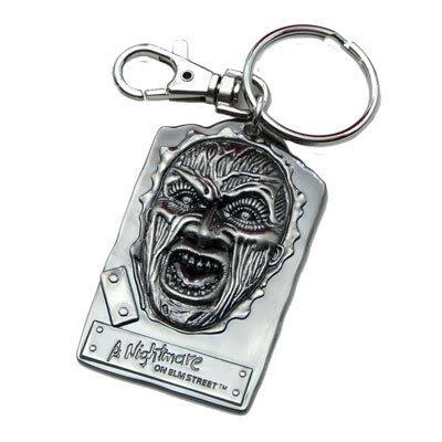 Preisvergleich Produktbild A Nightmare on Elm Street Freddy Pewter Keyring, 65201