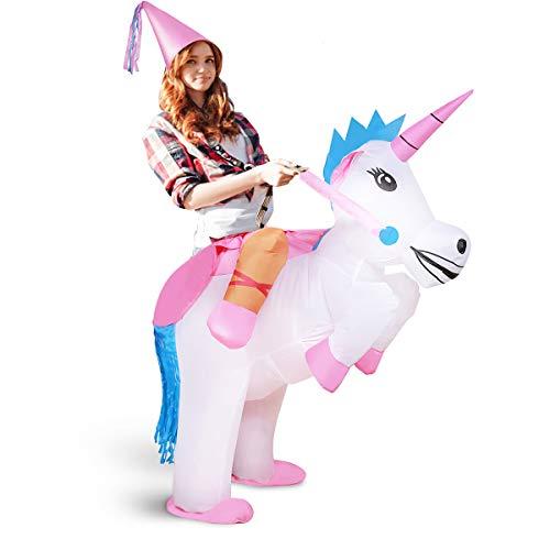 xiaoyi Die Aufblasbare Einhorn Prinzessin Halloween Verkleiden Sprengt Party Cosplay - Kostüm, Aufblasbare Einhorn Reiter (Aufblasbare Halloween Kostüme)
