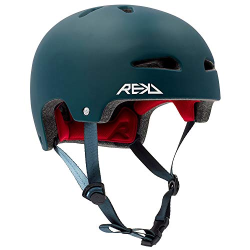 REKD Ultralite In-Mold Helmet Skateboard-Helm, Unisex, Erwachsene, Blau (blau), 57-59 cm