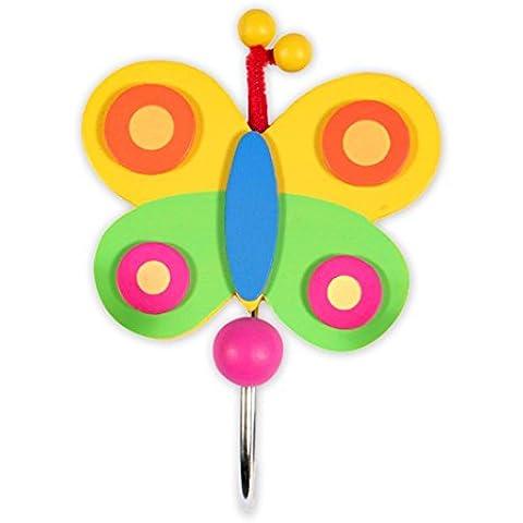 Pino 11 x 11 cm x 2-Mini Ganci, multicolore