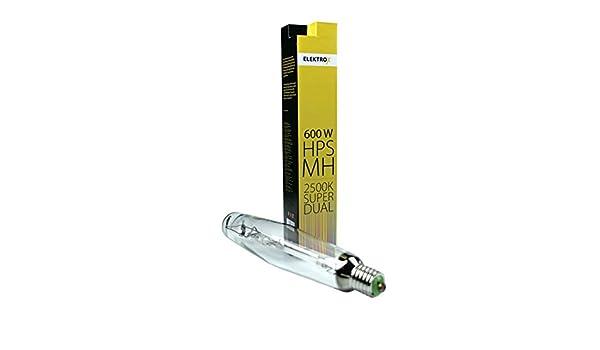 Elektrox 600W DUAL MH NDL Metal Halide HPS Super Grow