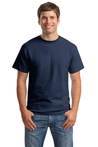 Hanes Big Mens Born to Be Worn 100% Cotton T-Shirt Navy