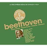La discothèque idéale de Diapason, vol. 5 / Beethoven : Concertos - Ouvertures - Fidelio - Messes.