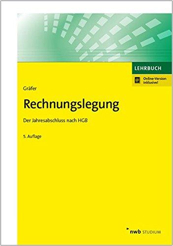 Rechnungslegung: Der Jahresabschluss nach HGB (NWB Studium Betriebswirtschaft)