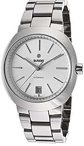 RADO D-STAR HOMME 37MM AUTOMATIQUE NOIR CÉRAMIQUE BRACELET DATE MONTRE R15762102