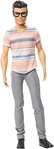 Mattel Barbie DMF41 - Modepuppe, Fashionistas Freund mit