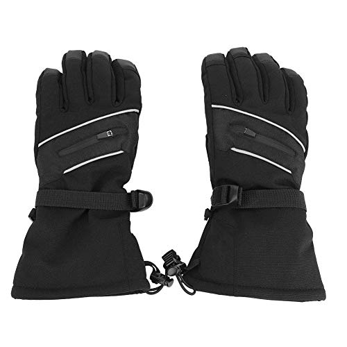 Jacksking Unisex Handschuhe, Winter Winddicht Wasserdicht Thermo Warm Screen Touch Motorradhandschuhe